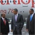 GebreMariam and Obama held a discussion on Ethiopian Airlines