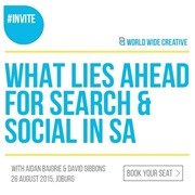 The next Heavy Chef event will bring together leaders from Facebook and Google South Africa - Book now!