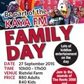 Kaya FM Family Day brought to you by KFC returns in time for spring!