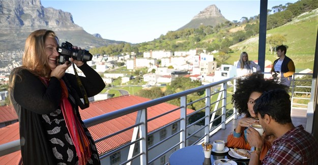 Making Table Mountain a cover model