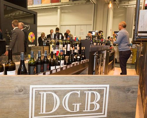 """Does Your Nose Know?"" DGB exhibit at Cape Wine 2015"