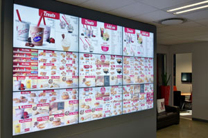 KFC South Africa has completed the 800-store Digital Menu Board rollout - now 100% digital in-store!