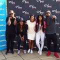 Vuma FM team with celebs