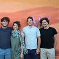The Lumkani team (L to R): Samuel Ginsberg, Francois Petousis, Paul Mesarcik, Emily Vining, Max Basler and David Gluckman.