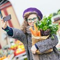 Take a fresh food selfie