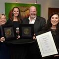 From left: Joy Summer, Philippa Marques, Tony Beamish and Carolyn Raphael