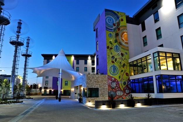Hotel Verde wins GBCSA Green Star award