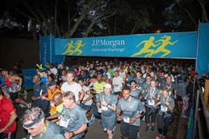 Get set, ready and go! Participants of the 2015 event take to the streets of Melrose for a good cause