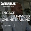 Caterpillar launches free e-learning website for future technicians in Africa