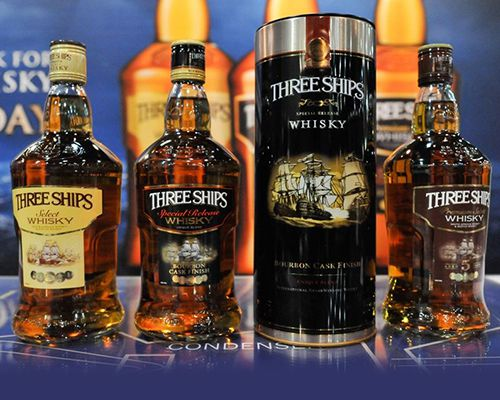 Three Ships at Whisky Live Festival 2015