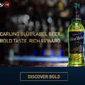 United Stations delivers for Carling Blue Label beer