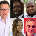 Contributors to this piece (top to bottom, L to R): Graham Cruikshanks, TBWA\Africa; Ken Kyaka, TBWA\Redhouse Kenya; Hunsa Chikaha, TBWA\ Khanga Rue, Tanzania; Tumiso Mabusela, TBWA\ Medcom, Botswana; Filipe Braga, TBWA\ Angola; Yosia Lukwago, TBWA\ Limelight, Uganda; Kobby Acquah-Hayford, TBWA\Markcom, Ghana; Kelechi Nwosu, TBWA\ Concept, Nigeria; and Sapi Bachi, TBWA\ Zimbabwe