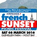 FrenchSunset pop-up picnic back in Cape Town