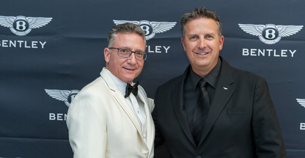 George Argyropoulos, managing director of Cruises International and Paolo Fra, brand and business manager for Bentley South Africa.