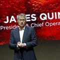 Coca-Cola Company president and chief operating officer James Quincey at the presentation of a new advertising campaign in Paris, France, on Tuesday. Image credit: Reuters/Benoit Tessier