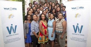 The Women in News editors and senior journalists from Botswana, Zambia, Zimbabwe, Kenya, Malawi and Tanzania. Rwandan Women in News journalists will join the programme soon.