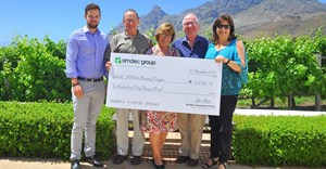 Dane Clifton, David Webster (SANParks), Astra Wilson, John Wilson and Andrea Witte