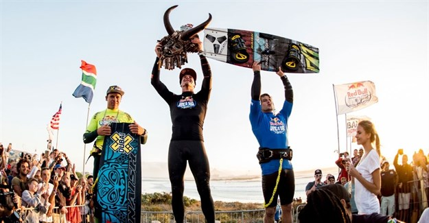 High-flying Hadlow grabs air kiteboarding title
