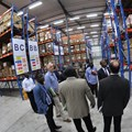 The new Warehouse-in-a-Box in Abidjan, Côte d'Ivoire, measures 4,095 m² and is pharmaceutical compliant.