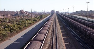 ©Peter Titmuss via 123RF - Iron Ore on railway wagons Salanaha Bay Terminal South Africa