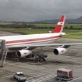 Simisa via  - Air Mauritius A340-300 parked at the gate at Sir Seewoosagur Ramgoolan International Airport in Mauritius