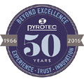 Pyrotec's 50 years of experience, trust and innovation