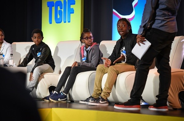 Highlights from the 2015 Generation Next conference, awards and exhibition. Image © Sunday Times