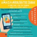 AMASA #MobileMatters Seminar - staying mobile in our always-connected world
