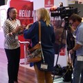 Stelle Obinwa being interviewed at WTM Africa 2016.