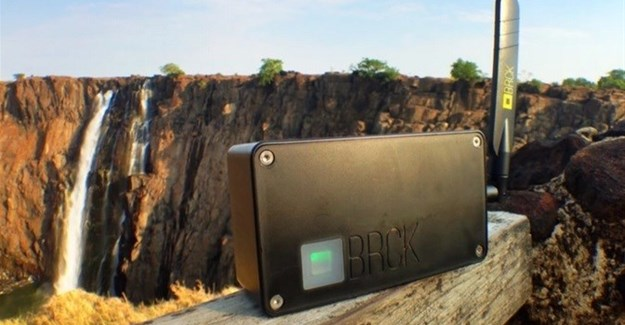 The BRCK: a rugged, self-powered, mobile Wi-Fi device which connects people and things to the internet in areas of the world with poor infrastructure.