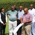 Thato Mogotsi of Botaki & Associates handing over construction sites to various contractors