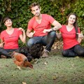 #LetThemBeFree celebrities are shouting on Freedom Day in support of a campaign to get McDonald's SA to commit to only using cage-free eggs. Masterchef winner Kamini Pather, actor Benedikt Sebastian together with Yolanda Guse who started an online petition (supported by more than 16,700 South Africans and four animal protection groups) are encouraging all to show their support by signing the petition.