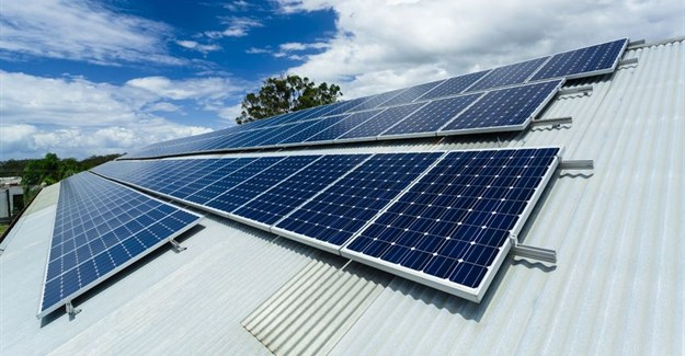 Solar installation at 382 Jan Smuts will reduce energy footprint