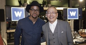 Maps Maponyane and Dion Chang.