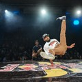Winning B-Boy 'The Curse'. Photographer: Tyrone Bradley/Red Bull Content Pool