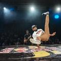 Winning B-Boy 'The Curse'. Photographer: Tyrone Bradley/Red Bull Content Pool