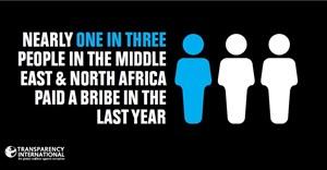 MENA bribery stats
