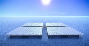 Floating solar panels take to the seas