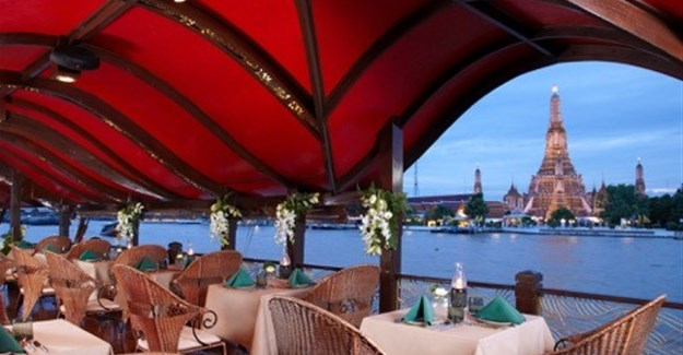 Dine on the River of Kings