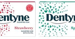 Dentyne Gum repackages