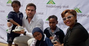 Heidelberg residents support malls shoe collection drive
