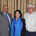 L-R: Leon Beech (Northlink College principal), Alana James (college council chairperson), Guy Harris (college council member)