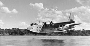 BOAC Short Solent S45 G-AHIN Southampton