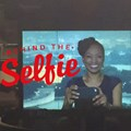 This selfie was captured by sitting in front of a TV camera and taking a picture of my image in the camera monitor. Not even Kim Kardashian has taken one of those!