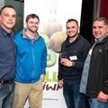 Rupert Stoop (Fruit and Veg City), Nicholas Myhill (Freshmark - Shoprite Group), Darryl Rahme and John Rahme (Kiwi King)