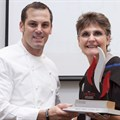 Top chef awarded Mentorship Award
