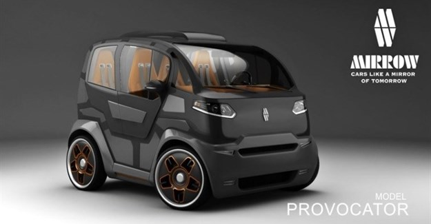 Could this weird-looking concept take on the Smart FourTwo?