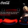 Cinema stunt - The great taste of Coke Zero