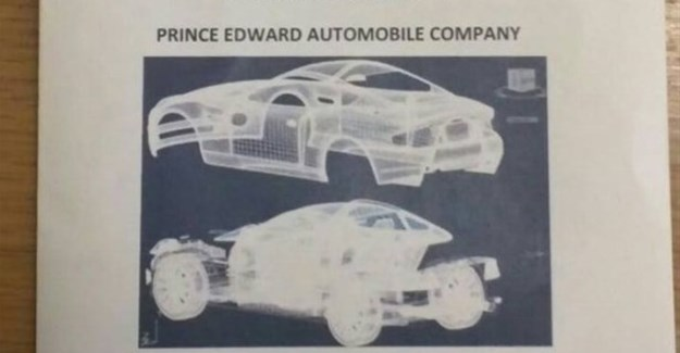 Zimbabwean high school students design car