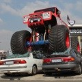 Monster truck stunt in Boksburg Burger King promotion
